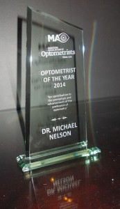 Optometrist of the Year Award 2014